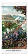 Battle Of Missionary Ridge Beach Towel