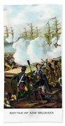 Battle Of New Orleans Beach Sheet