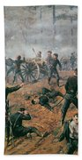 Battle Of Shiloh Beach Towel by T C Lindsay