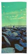 Bay Bridge Beach Towel