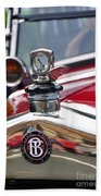 Bayliss Thomas Badge And Hood Ornament Beach Towel