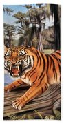 Bayou Mike Of Louisiana Beach Towel