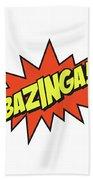 Bazinga  Beach Towel