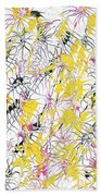 Bumble Bees Against The Windshield - V1cm89 Beach Towel