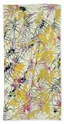 Bumble Bees Against The Windshield - V1cs65 Beach Towel