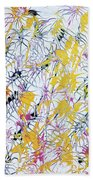 Bumble Bees Against The Windshield - V1lllt46 Beach Towel