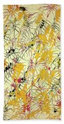 Bumble Bees Against The Windshield - V1ls75 Beach Towel