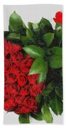 Be Mine Valentine By Presidential Candidate Catherine Lott Beach Towel