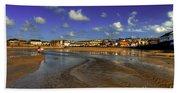 Beach At Perranporth Beach Towel