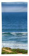 Beach Cloud Streak Beach Towel
