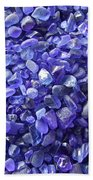 Beach Glass - Blue Beach Towel