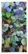 Beach Glass Mix Beach Towel