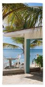 Beach In Grand Turk Beach Towel
