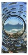 Beach Life Through The Looking Glass Beach Towel