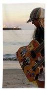 Beach Musician Beach Towel