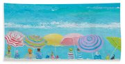 Beach Painting - Color Of Summer Beach Towel