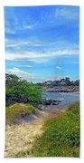 Beach Path Wisdom Beach Towel