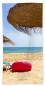 Beach Relaxing Beach Towel by Carlos Caetano