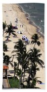 Beach Scene Beach Towel