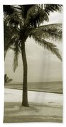 Beach Scene In Key West Beach Towel