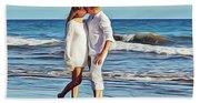 Beach Wedding Beach Towel