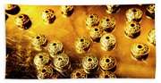 Beads From Another Universe Beach Towel