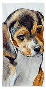 Beagle Puppy Beach Towel