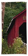 Bean Blossom Bridge I Beach Towel