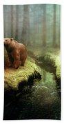 Bear Mountain Fantasy Beach Towel