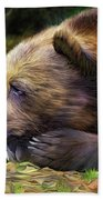Bear's Eye View Beach Towel