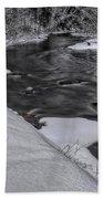 Bearskin Creek Riffles Beach Towel
