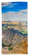 Beartooth Highway Scenic View Beach Towel