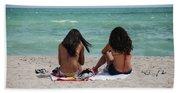 Beauties On The Beach Beach Towel