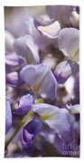 Beautiful And Magical Wisteria  Beach Towel