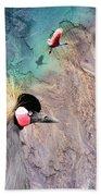 Beautiful Birds Beach Towel