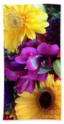 Beautiful Bouquet  Beach Towel