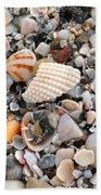 Beautiful Broken Shells Beach Towel