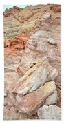 Beautiful Color In Wash 3 Of Valley Of Fire Beach Towel