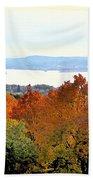 Beautiful Colors Of Autumn Landscape 2 Beach Towel