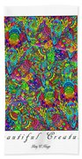 Beautiful Creatures Beach Towel