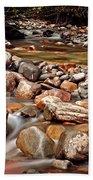 Beautiful Creek Beach Towel