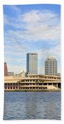 Beautiful Day Tampa Bay Beach Towel