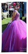 Beautiful Dress Make Up Dad Of Dead  Beach Sheet