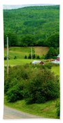 Beautiful Farm In Windsor Forks Beach Towel