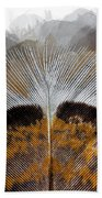 Beautiful Feather Beach Towel