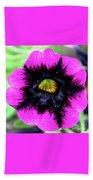 Beautiful Flower Beach Towel by Annette Allman