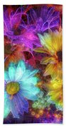 Beautiful Flowers Beach Towel