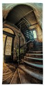 Beautiful Forgotten Staircase Beach Towel