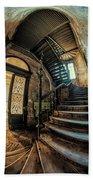 Beautiful Forgotten Staircase Beach Sheet