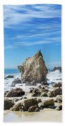Beautiful Malibu Rocks Beach Towel